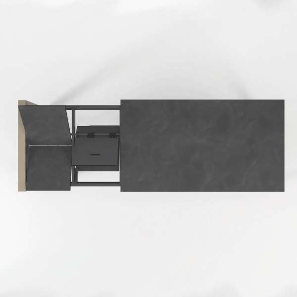 Table en céramique extensible Quadra - 11 - 12