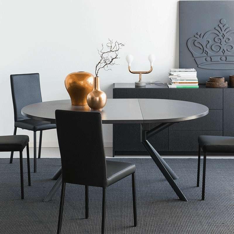Table Ronde Extensible En Céramique Giove Connubia