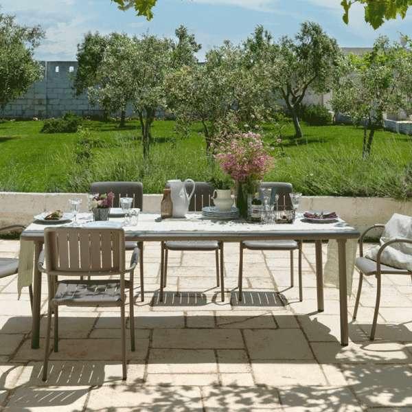 Table de jardin avec allonge - Maestrale 220 - 1