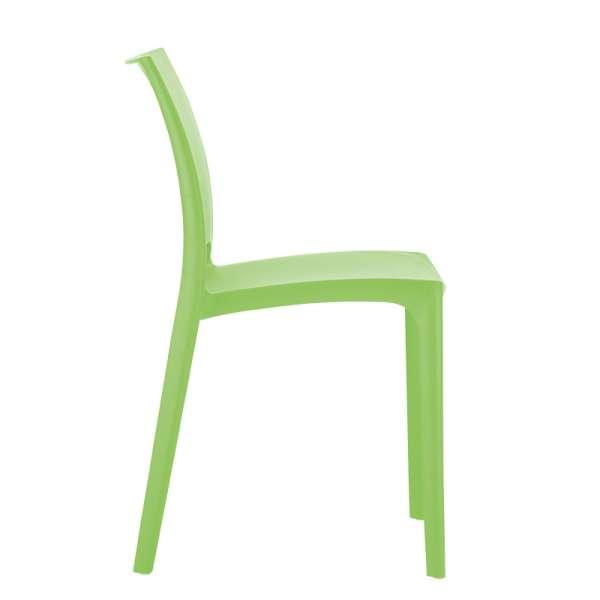 Chaise de jardin en polypropylène vert tropical - Maya - 18