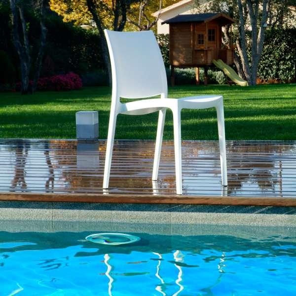 Chaise de jardin en polypropylène - Maya 2 - 9