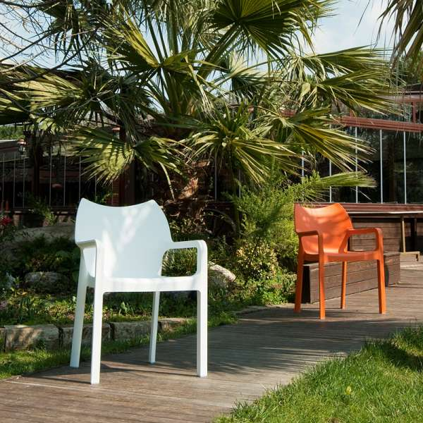 Fauteuil de jardin en polypropylène - Diva 5 - 20