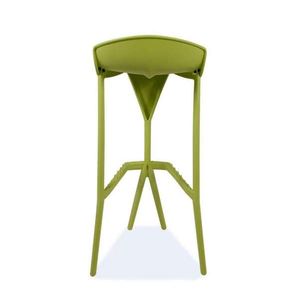 Tabouret de jardin en plastique vert - Shiver 3 - 14