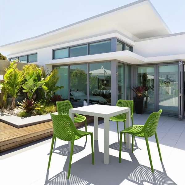 Chaise de jardin moderne en polypropylène - Air - 3