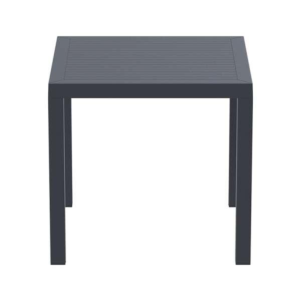 Table de jardin carrée en polypropylène - Ares - 10