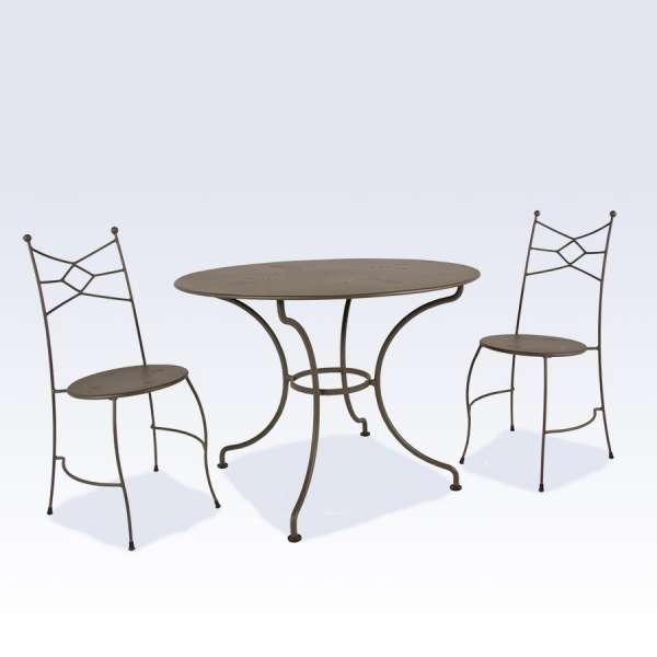 Table de terrasse en métal - Seringua - 2
