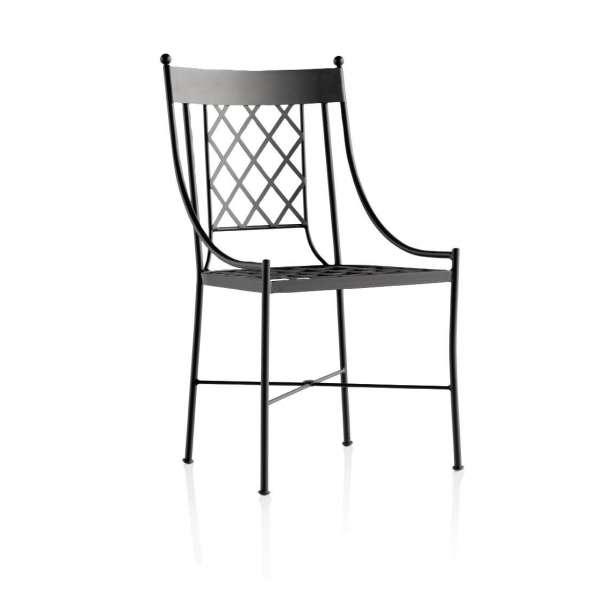 Chaise de jardin provençale en métal - Marsella