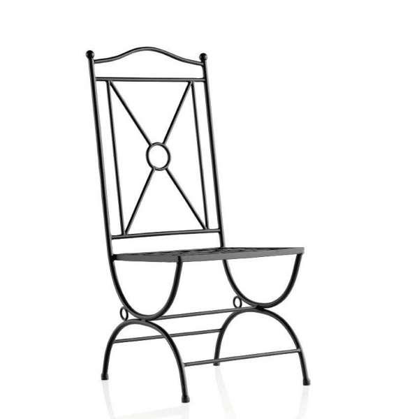 Chaise de jardin provençale en métal - Atenas