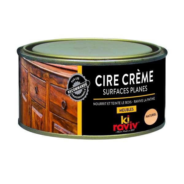 Entretien cire crème surfaces planes
