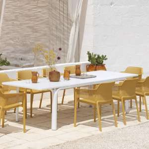 Salon de jardin en polypropylène et aluminium - Alloro net 3