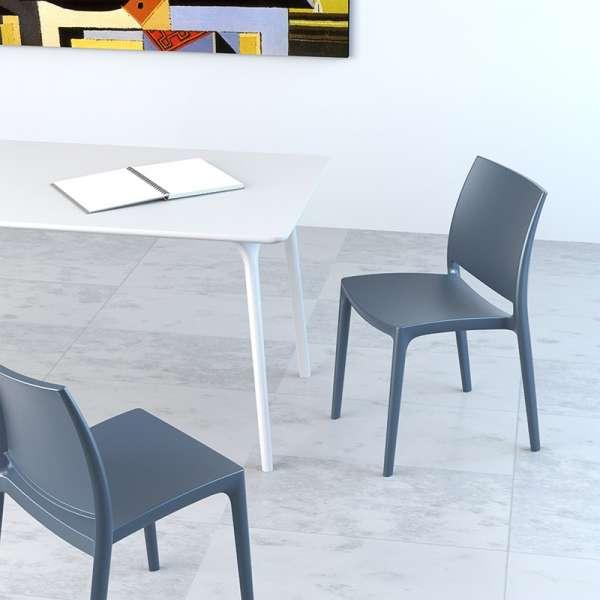 Chaise d'intérieur en plastique - Maya - 2