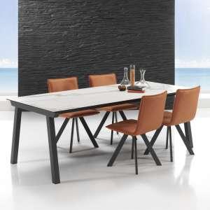 Table moderne extensible en céramique - Benidorm