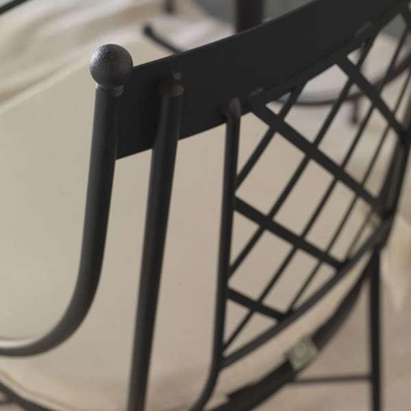 Chaise provençale en métal - Marsella - 2