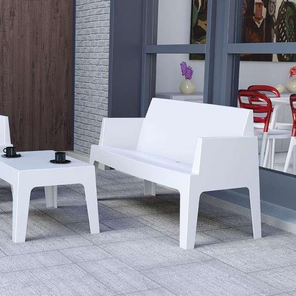 Banquette de jardin en polypropylène - Box Sofa - 2