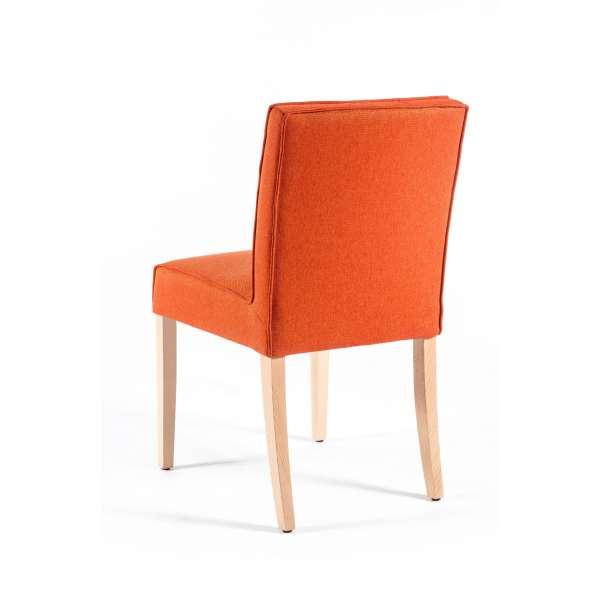 Chaise moderne en tissu et bois - Carpe - 2