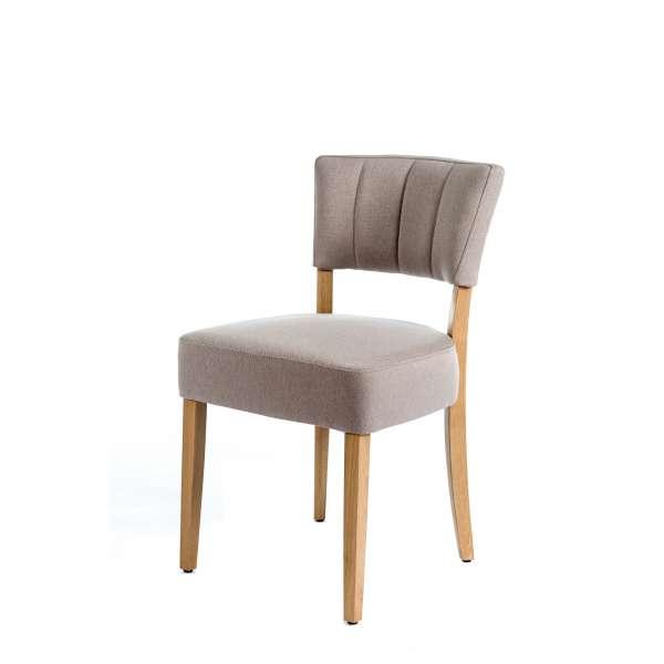 Chaise matelassée en tissu - Steffi - 4