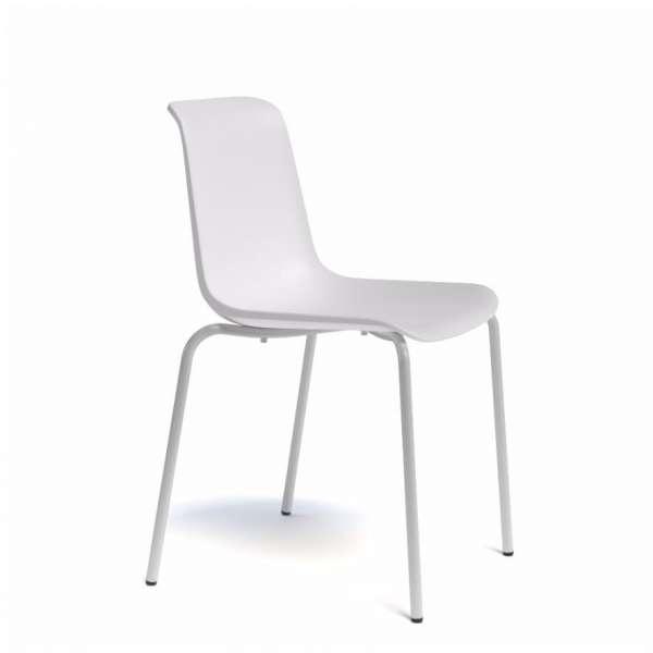 Chaise en polypropylène et métal - Paris 3 - 4