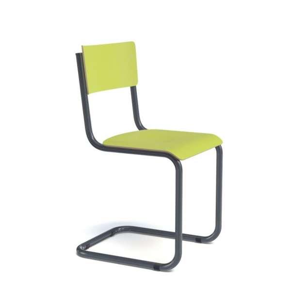 Chaise vintage bois et métal - Vintage - 5