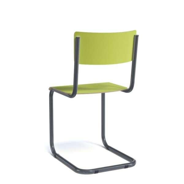 Chaise rétro en métal - Vintage - 6