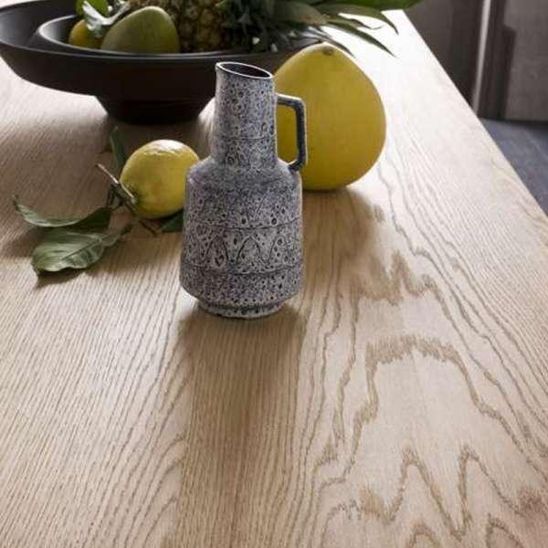 Table extensible design en bois - Wave - 6