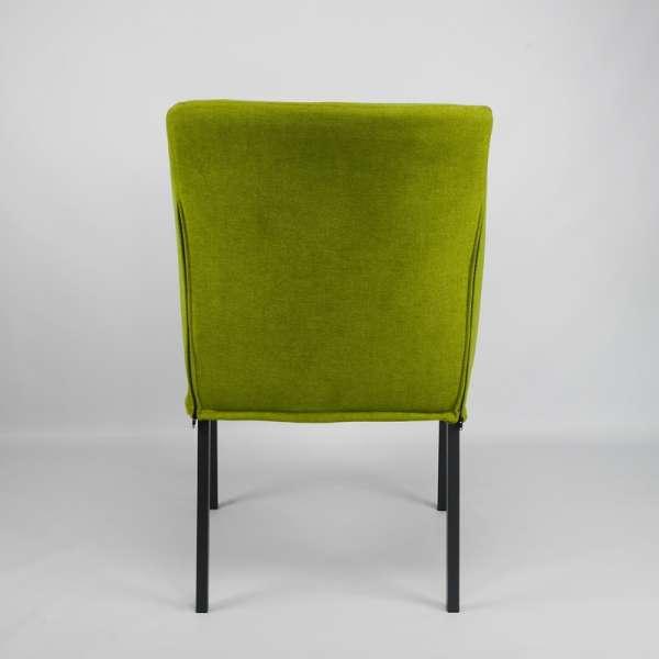 Fauteuil moderne en tissu vert - Illa - 6