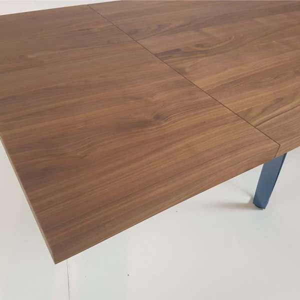 Table avec rallonge en bois - Wave - 11