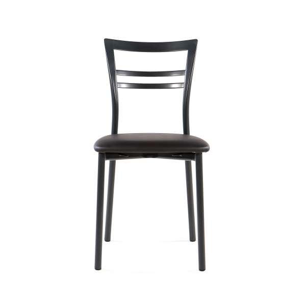 Chaise de cuisine rembourrée en métal - Go 2 - 10