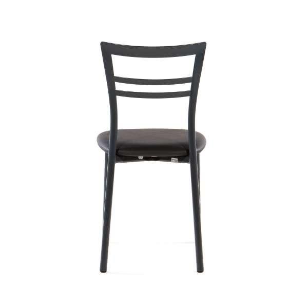 Chaise de cuisine rembourrée en métal - Go 5 - 13