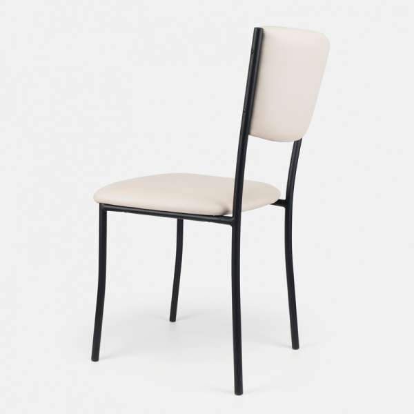 Chaise de cuisine en métal et vinyl - Ruby 9 - 10