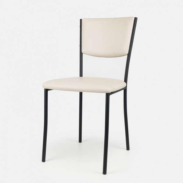Chaise de cuisine en métal et vinyl - Ruby 13 - 14