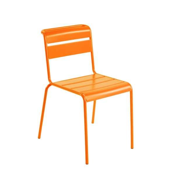 Chaise de jardin vintage en métal - Lutetia - 1
