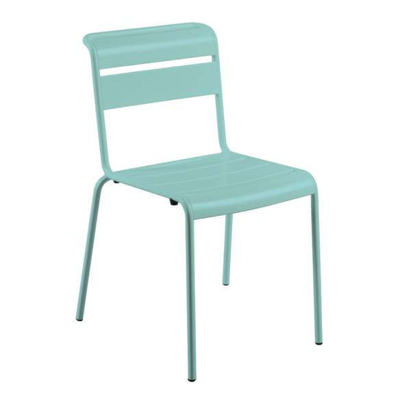 Chaise de jardin vintage en métal - Lutetia 3 - 3