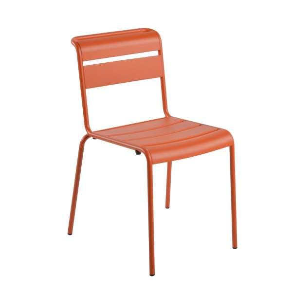 Chaise de jardin vintage en métal - Lutetia 10 - 8