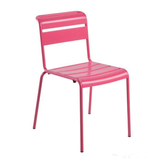Chaise de jardin vintage en métal - Lutetia 12 - 10