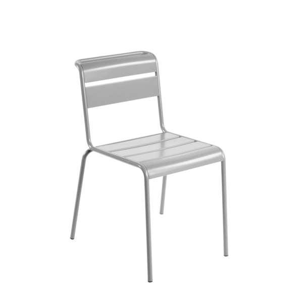 Chaise de jardin vintage en métal - Lutetia 18 - 16