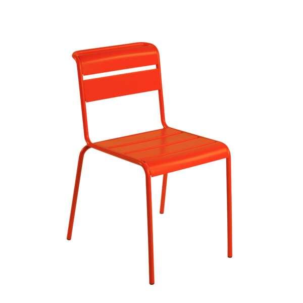 Chaise de jardin vintage en métal - Lutetia 19 - 17