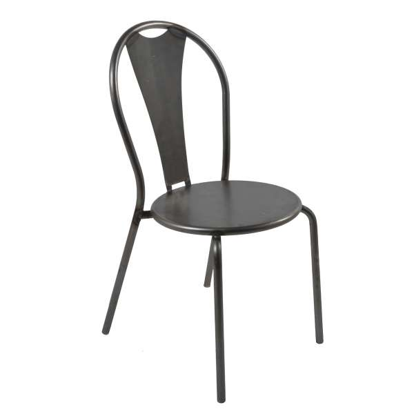 Chaise industrielle en métal - Atelier - 1