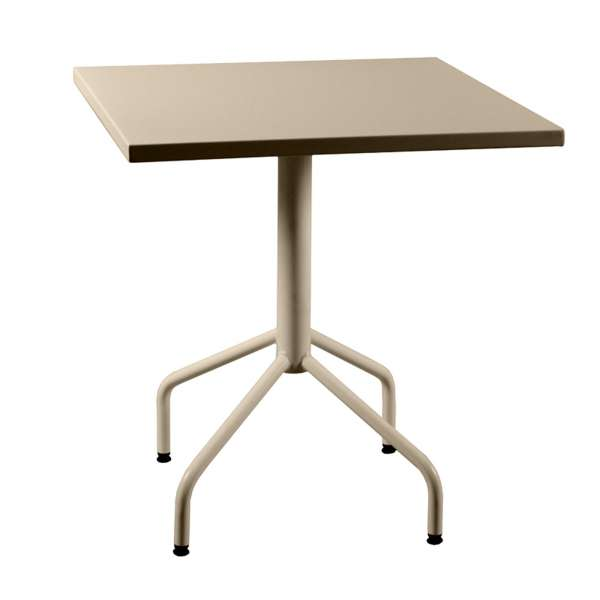 Table de jardin pliante en métal - Riviera 4 8 - 10