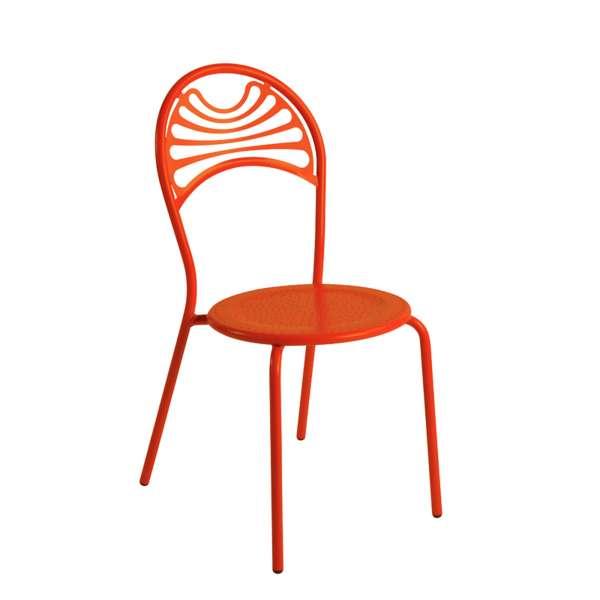 Chaise de jardin contemporaine en métal - Cabaret 10 - 10