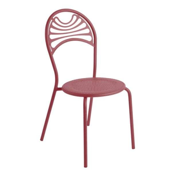 Chaise de jardin contemporaine en métal - Cabaret 11 - 11