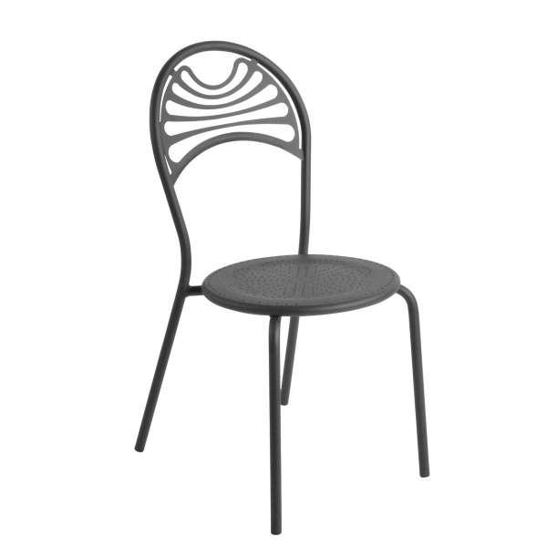 Chaise de jardin contemporaine en métal - Cabaret 12 - 12