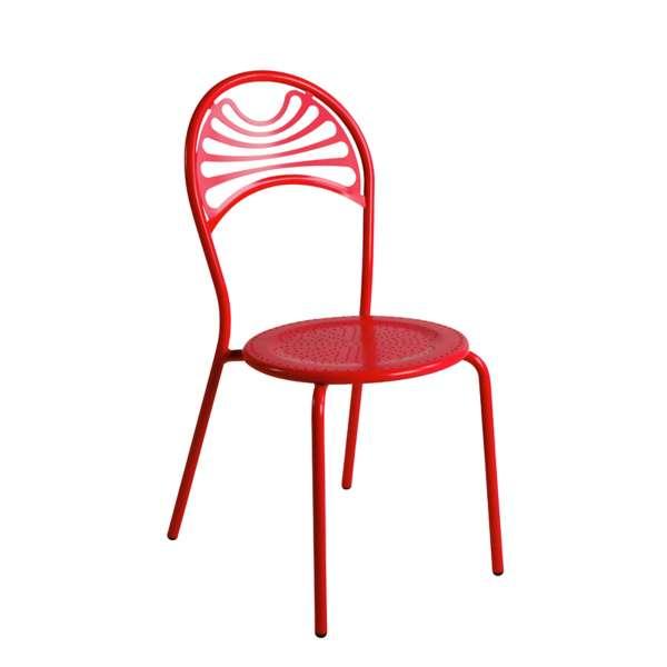 Chaise de jardin contemporaine en métal - Cabaret 17 - 17