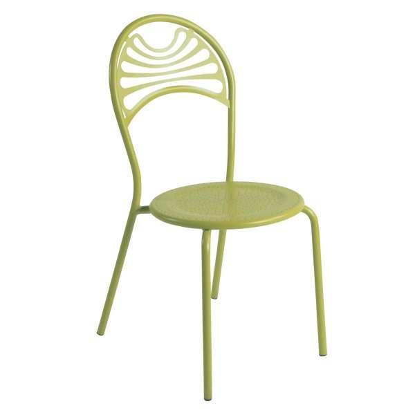 Chaise de jardin contemporaine en métal - Cabaret 18 - 18