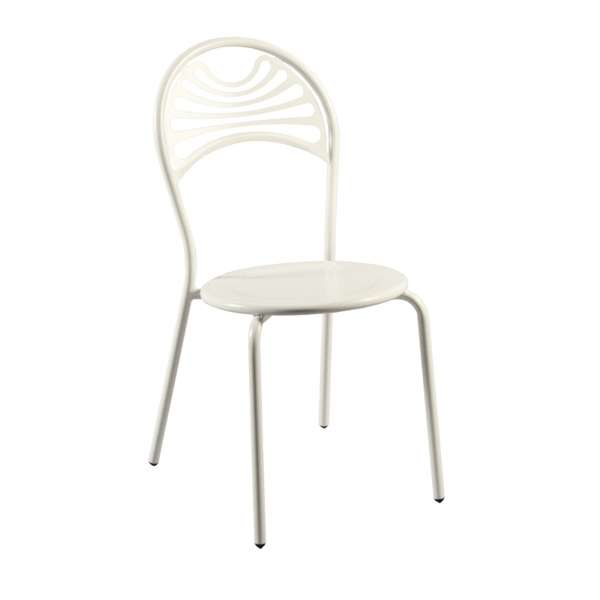Chaise de jardin contemporaine en métal - Cabaret 22 - 22