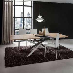 Table contemporaine extensible en stratifié - Renzo 3