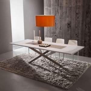 Table contemporaine extensible en fenix - Renzo