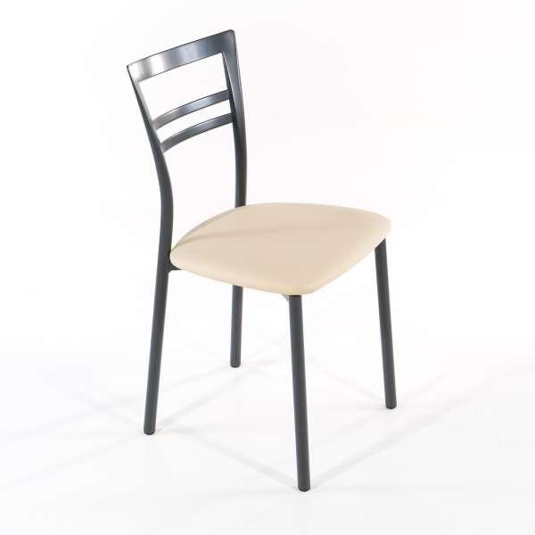 Chaise de cuisine en synthétique et métal - Go 1419 5 - 21