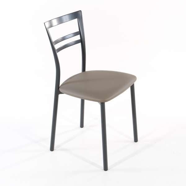 Chaise de cuisine en synthétique et métal - Go 1419 6 - 22