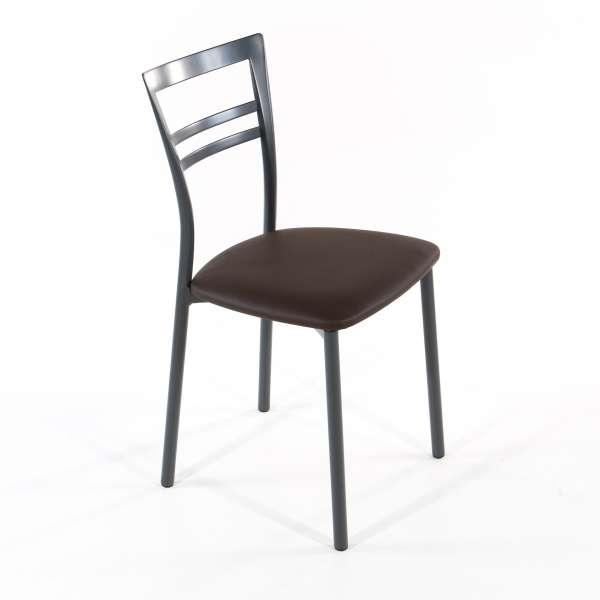 Chaise de cuisine en synthétique et métal - Go 1419 7 - 23