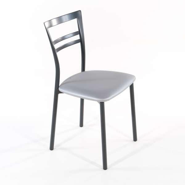 Chaise de cuisine en synthétique et métal - Go 1419 8 - 24